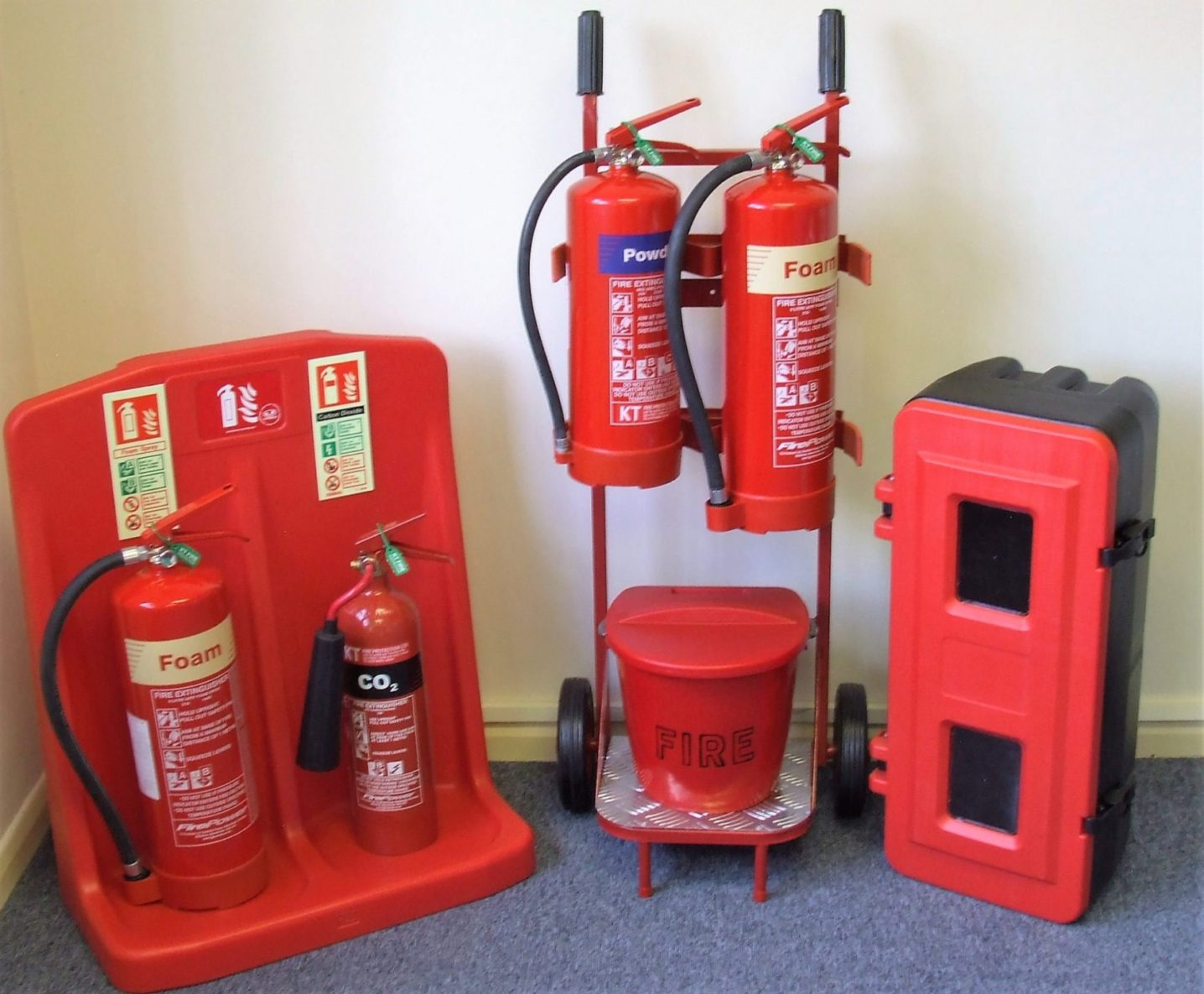KT Fire Protection Fire Fighting Stands