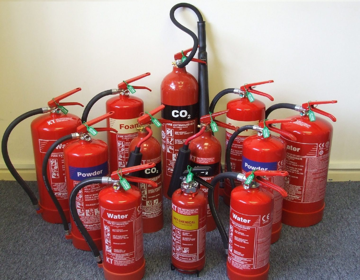 KT Fire Protection Fire Extinguishers